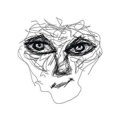 Drawing - Mon Amie by Bill Owen
