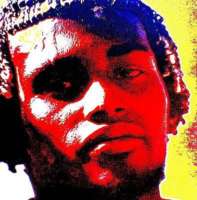 Mon Homme Denali Art Print