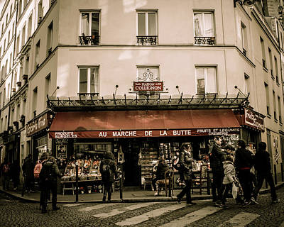 Photograph - Mon Paris by Miguel Winterpacht