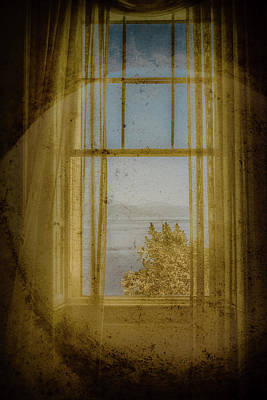 Photograph - Mon Repos, Corfu, Greece - Window by Mark Forte