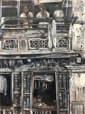 Painting - Mon Vieux Quartier by Belinda Low