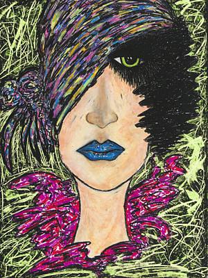 Painting - Mona by Christine Regan Lake
