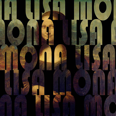 Photograph - Mona Lisa 3 by Andrew Fare
