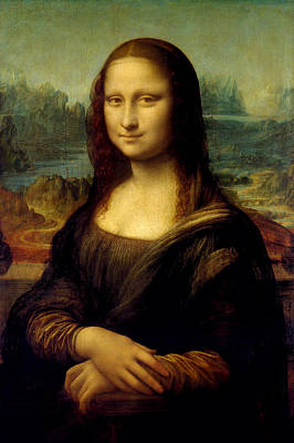 Francesco Painting - Mona Lisa - By Leonardo Da Vinci by War Is Hell Store