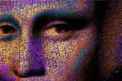 Soulful Eyes Painting - Mona Lisa Eyes 1 by Tony Rubino