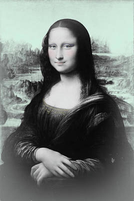 Digital Art - Mona Lisa Reimagined by Susan Lafleur