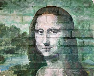 Painting - Mona Lisa  by Stan Tenney