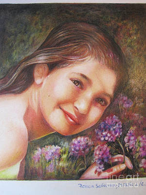 Painting - Mona Lisa's Smile by Patricia Schneider Mitchell