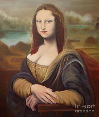 Painting - Mona by Serena Van Vranken
