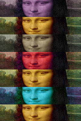 Photograph - Mona-tones 1 by D A Metrov