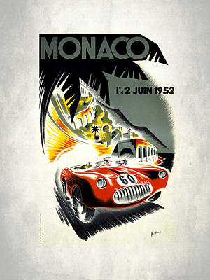 Monaco Photograph - Monaco 1952 by Mark Rogan