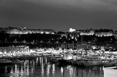 Photograph - Monaco Bay by Gabriella Szekely