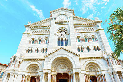 Photograph - Monaco Cathedral by Marek Poplawski