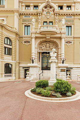 Photograph - Monaco Grand Casino by Marek Poplawski