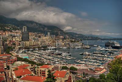 Photograph - Monaco - La Condamine 001 by Lance Vaughn