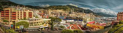 Photograph -  Monaco Landscape Photography by Alex Saunders