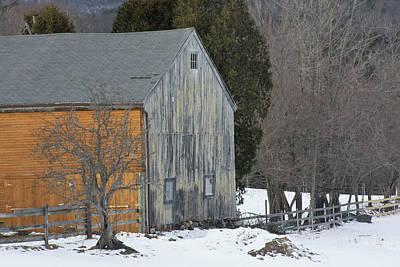 Photograph - Monadnock Barn by Paul Miller