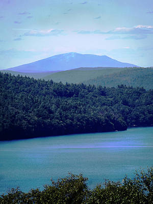 Photograph - Monadnock From Quabbin by Michael Friedman