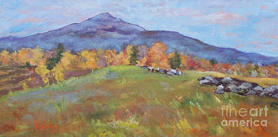 Mt. Monadnock Painting - Monadnock Hillside by Alicia Drakiotes