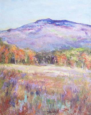 Mt. Monadnock Painting - Monadnock In Spring Color by Alicia Drakiotes