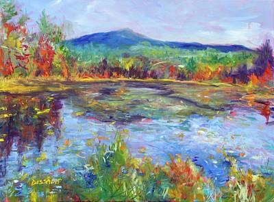Peeper Painting - Monadnock Merriment by Linda Dessaint