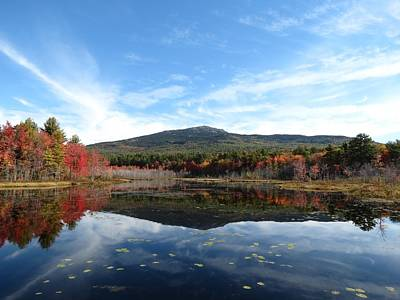 Photograph - Monadnock Reflects by MTBobbins Photography