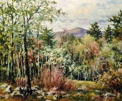 Mt. Monadnock Painting - Monadnock Spring by Gary Shepard
