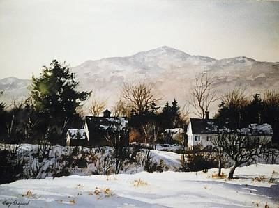 Mt. Monadnock Painting - Monadnock Winter by Gary Shepard