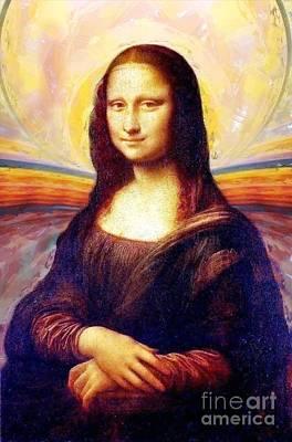 Monalisa Art Print by Art Gallery