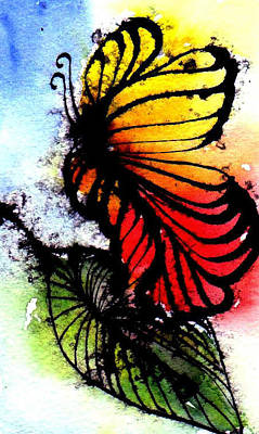 Painting - Monarch by Anne Duke