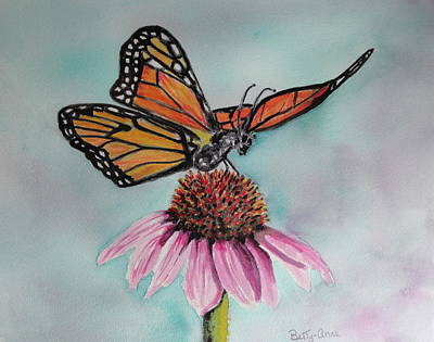 Painting - Monarch  by Betty-Anne McDonald