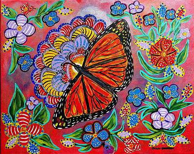 Painting - Monarch Butterfly by Gina Nicolae Johnson