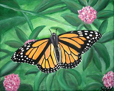 Painting - Monarch by Joanna Aud