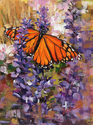 Painting - Monarch by Mark Mille