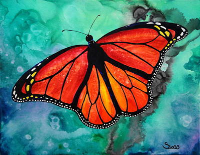 Painting - Monarch by Shiela Gosselin
