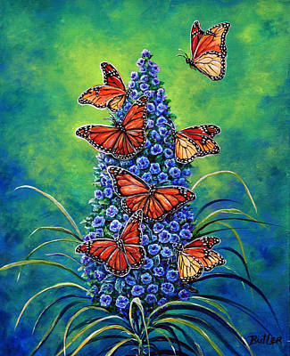 Painting - Monarch Waystation by Gail Butler