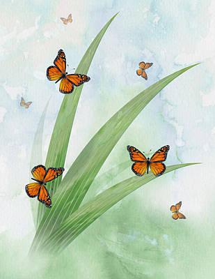 Monarchs Art Print