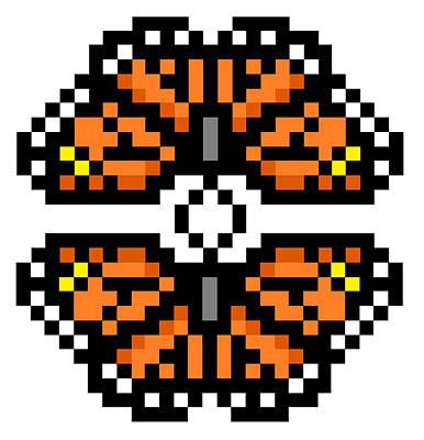 Digital Art - Monarchs by Gerald Lynch