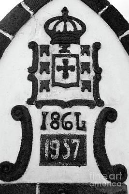 Monarchy Symbols Art Print by Gaspar Avila