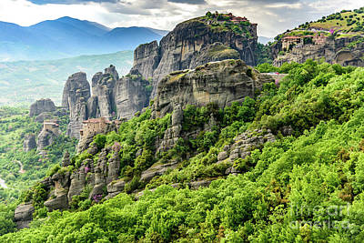 Photograph - Monasteries Of Meteora, Greece by Global Light Photography - Nicole Leffer
