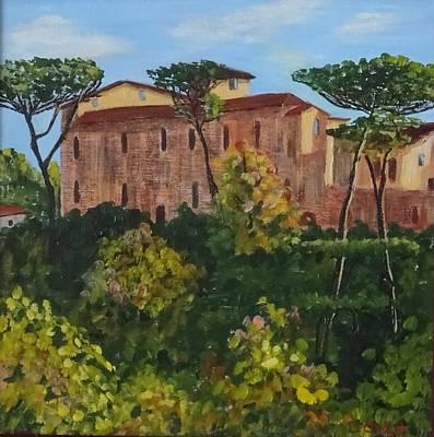 Painting - Monastero by Diane Arlitt