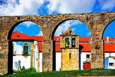 Photograph - Monastery And Aquaduct by Rick Bragan