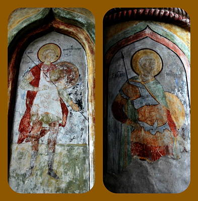 Photograph - Monastery Icons by Jacqueline M Lewis