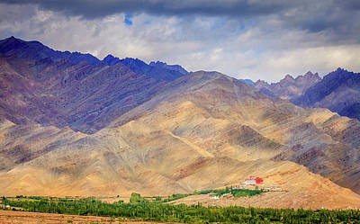 Asia Photograph - Monastery In The Mountains by Alexey Stiop