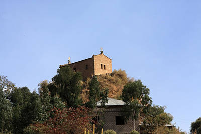 Religious Art Photograph - Monastery Of Abba Pantaleon At Axum, Ethiopia by Aidan Moran