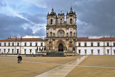 Photograph - Monastery Of Alcobaca Portugal by Menega Sabidussi