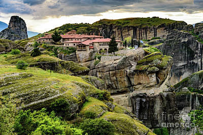 Photograph - Monastery Of Meteora, Greece by Global Light Photography - Nicole Leffer