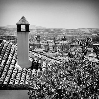 Monastery Of Saint Jerome Albaicin Granada Art Print by Guido Montanes Castillo