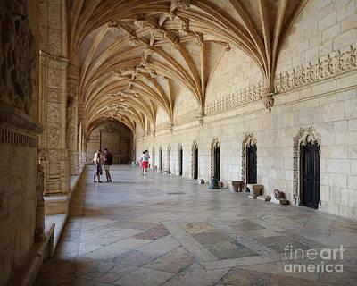 Photograph - Monastery Of The Hieronymites Lisbon 12 by Rudi Prott