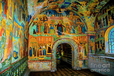 Photograph - Monastery Walls by Rick Bragan